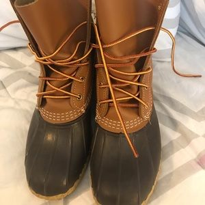 NWOT Bean Boots size 8